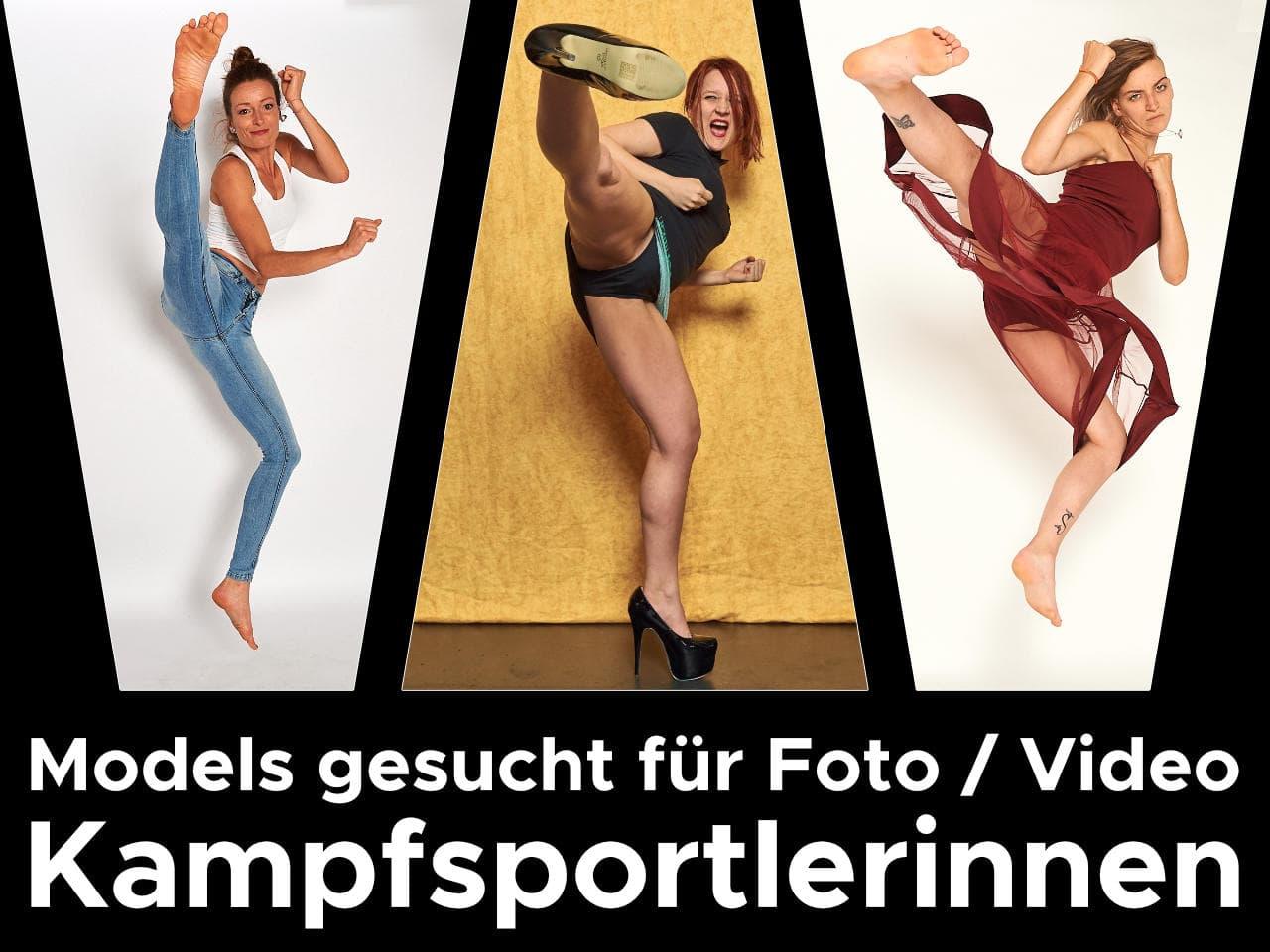KGZ Media - Kampfsportlerinnen Models gesucht
